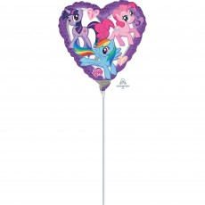 My Little Pony Party Decorations - Shaped Balloon Heart