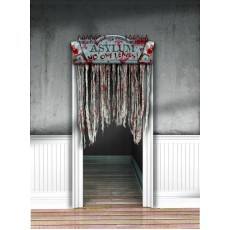 Halloween Chop Shop Bloody Door Decoration