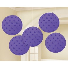 Purple New Mini Paper Lanterns