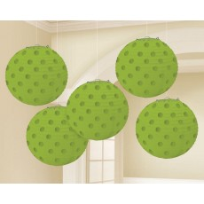 Green Kiwi Mini Paper Lanterns