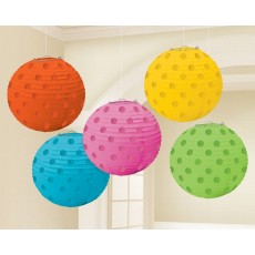 Dots Mini Paper Lanterns
