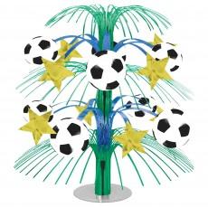Soccer Fan Cascade Centrepiece