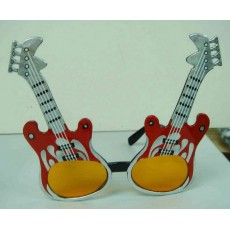 Rock n Roll Fun Shades Rock Guitars Glasses Costume Accessorie
