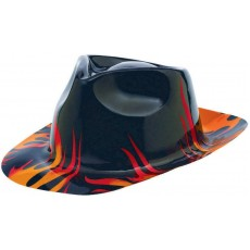Rock n Roll Classic 50's Fedora Flames Head Accessorie