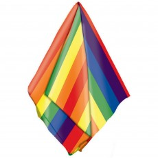 Rainbow Bandana Head Accessorie