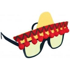 Caliente Fun Shades Fiesta Glasses Costume Accessorie