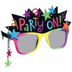 New Year Fun Shades Glasses Head Accessorie