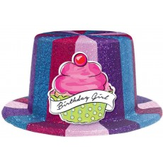 Happy Birthday Sweet Party Top Hat Costume Accessorie