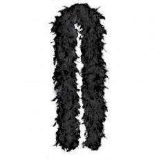 Black Feather Boa Costume Accessorie