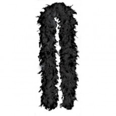 Black Party Supplies - Feather Boa