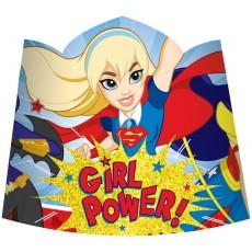 Super Hero Girls Party Supplies - Tiaras Paper
