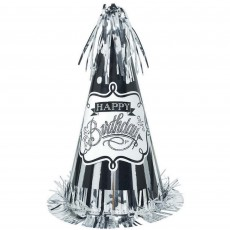 Chalkboard Party Supplies - Party Hat Large Cone