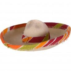Mexican Fiesta Party Supplies - Mini Sombrero Hat Hair Clip