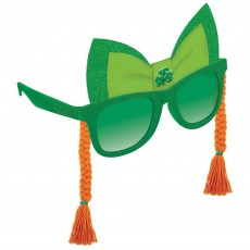 St Patrick's day Braids Fun Shades Head Accessorie