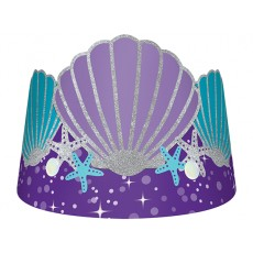 Mermaid Wishes Glitter Crown Tiaras