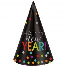 New Year Cone Party Hat