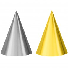 New Year Cone Party Hats
