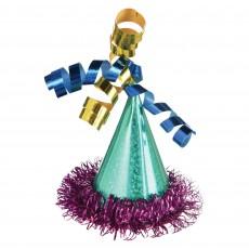 Dots Party Supplies - Happy Dots Mini Cone Hat Hair Clip