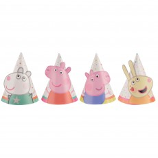 Peppa Pig Confetti Party Mini Cone Party Hats