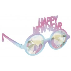 New Year Prism Glasses Head Accessorie