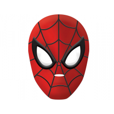 Spider-Man Vacuum Formed Plastic Party Mask