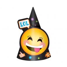 Emoji LOL Cone Party Hats