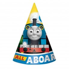 Thomas & Friends All Aboard Paper Cone Party Hats Pack of 8