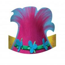 Trolls Die Cut Cardboard Party Hats