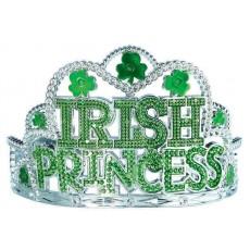 St Patrick's day Plastic Irish Princess Tiara