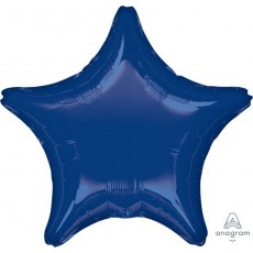 Blue Navy Standard XL Shaped Balloon
