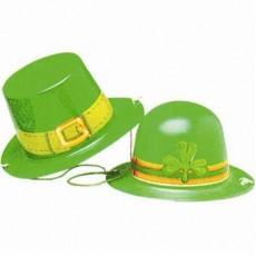 St Patrick's day Mini Plastic Hat Costume Accessorie