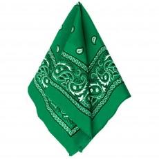 Cowboy Party Decorations Green Bandana
