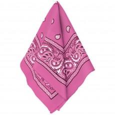 Cowboy & Western Pink Bandana Head Accessorie