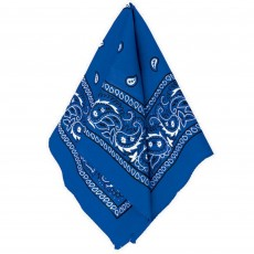 Cowboy & Western Blue Bandana Head Accessorie