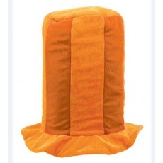 Orange Tall Top Hat Head Accessorie