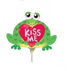 Love Mini Toad Kiss Me Shaped Balloon