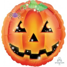 Halloween Standard XL Playful Pumpkin Foil Balloon