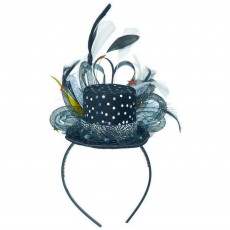 Hollywood Deluxe Feather Headband Tiara