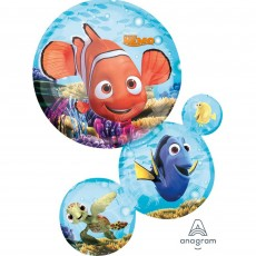 Finding Dory Party Decorations - Shaped Balloon Finding Nemo Round
