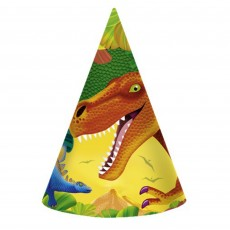 Dinosaur Prehistoric s Cone Party Hats