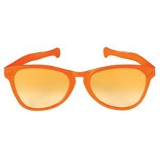 Orange Party Supplies - Jumbo Glasses
