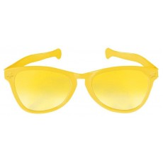 Yellow Jumbo Glasses Head Accessorie