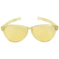 Gold Party Supplies - Jumbo Glasses
