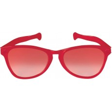 Red Jumbo Glasses Head Accessorie