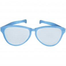 State of Origin Party Supplies - Jumbo Glasses Light Blue