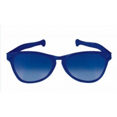 Blue Party Supplies - Jumbo Glasses Navy Blue
