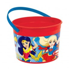 Super Hero Girls Container & Handle Favour Boxe