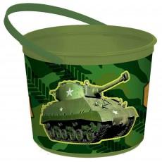 Camouflage Container Favour Box 13cm x 16cm