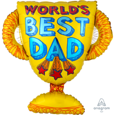 Father's Day SuperShape Shaped Balloon