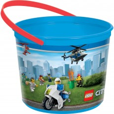 Lego Party Supplies - Favour Box Lego City Container